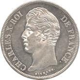 フランス ルイ18世 5フラン銀貨[UNC+]