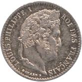 フランス ルイ・フィリップ1世 1/4フラン銀貨[PL UNC]