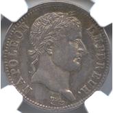 フランス ナポレオン1世 1フラン銀貨[EF]