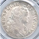 フランス ルイ15世 エキュー銀貨[UNC]