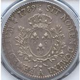 フランス ルイ16世 エキュー銀貨[-EF]【裏面】