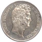 フランス ルイ・フィリップ1世 5フラン銀貨[UNC]