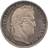 フランス ルーアン造幣局訪問記念5フラン銀貨[Tone UNC]