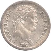 フランス ナポレオン1世 1/2フラン銀貨[FDC]