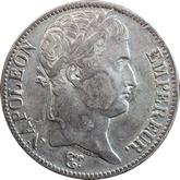 【影打ち】フランス ナポレオン1世 5フラン銀貨[EF]