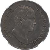 フランス ナポレオン第一執政 5フラン銀貨[EF+/AU]