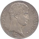 フランス ナポレオン1世  5フラン銀貨[EF+]