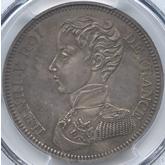 フランス  アンリ5世 5フラン試作銀貨[PL UNC]
