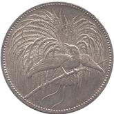 ドイツ領ニューギニア 極楽鳥 2マルク銀貨[Tone EF]