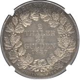 ドイツ ヴァルデック・ピルモント 2ターレル銀貨[AU/UNC]