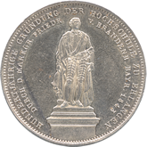 ドイツ バイエルン エルランゲン大学創立100年記念 2ターレル銀貨[EF]