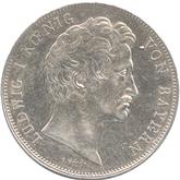 ドイツ バイエルン エルランゲン大学創立100年記念 2ターレル銀貨[EF]【裏面】
