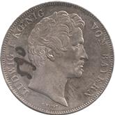 ドイツ バイエルン フォン・クライットマイル像建立記念 2ターレル銀貨[-EF]【裏面】