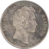 ドイツ ライヒェンバッハ、フラウンホーファー死去記念 1ターレル銀貨 [EF]【裏面】
