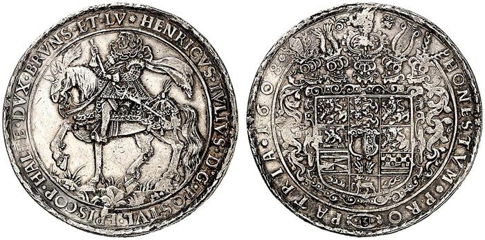 1608年のレーザーターレル(表裏)