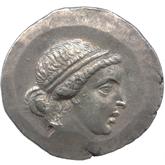 古代ギリシャ  アイオリス テトラドラクマ銀貨[VF]
