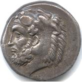 古代ギリシャ  カリア諸島コス テトラドラクマ銀貨[VF]