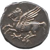 古代ギリシャ  エピゼフュリオイ・ロクロイ ステーター銀貨[Toned EF]
