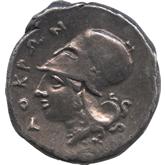 古代ギリシャ  エピゼフュリオイ・ロクロイ ステーター銀貨[Toned EF]【裏面】