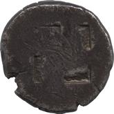 古代ギリシャ  トラキア地方タソス島 ステーター銀貨[VF]【裏面】