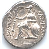 古代ギリシャ マケドニア アレクサンダー大王 テトラドラクマ銀貨[F+]【裏面】