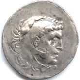 古代ギリシャ アレキサンダー3世 テトラドラクマ銀貨[F]