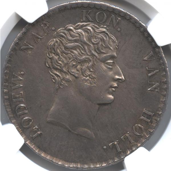 ルイ・ボナパルト銀貨(表面)