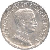イタリア ヴィットリオ・エマヌエル3世 5リレ銀貨 クアドリガ[UNC]