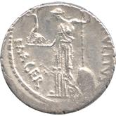共和政ローマ デナリウス銀貨 ジュリアス・シーザー[EF+]【裏面】
