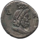 古代ローマ帝国 エジプト アントニヌス・ピウス銀貨[-VF]【裏面】