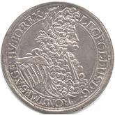 神聖ローマ帝国 レオポルド1世 1ターレル銀貨[EF]