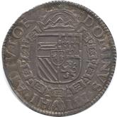 スペイン ネーデルラント オーファーアイセル ダールデル銀貨[UNC]【裏面】
