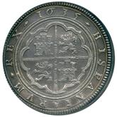 スペイン フィリップ4世 50レアル銀貨[UNC]【裏面】