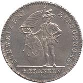 スイス ソロッツルン 4フランケン銀貨[UNC]
