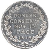 スイス チューリッヒ 40バッツェン銀貨[AU/UNC]【裏面】