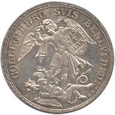 スイス ベロミュンスター 1/2ターレル銀貨[Tone UNC]