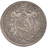 スイス ベロミュンスター 1/2ターレル銀貨[Tone UNC]【裏面】