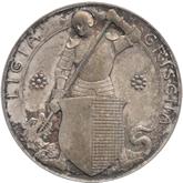 スイス グラウヴュンデン 銀メダル[Tone FDC]