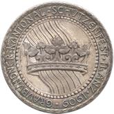 スイス グラウヴュンデン 銀メダル[Tone FDC]【裏面】