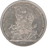 スイス フリーブルク スイス連邦射撃祭 5フラン銀貨
