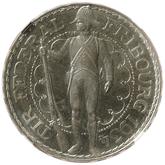 スイス フリーブール 射撃祭記念 5フラン銀貨