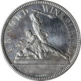 スイス ツーク 射撃祭記念 5フラン銀貨[UNC]