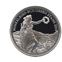 スイス50フラン銀貨