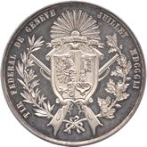スイス ジュネーブ射撃祭記念1ターレル銀貨[Tone FDC]【裏面】