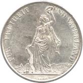 スイス チューリッヒ射撃祭記念 5フラン銀貨[UNC]