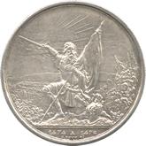スイス ザンクトガレン スイス連邦射撃祭 5フラン銀貨[AU/UNC]